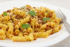 Pasta with sambal