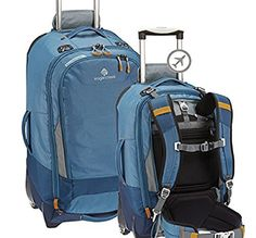 "Eagle Creek Flip Switch 22"" Carry-on Wheeled Backpack Luggage with Removable Backpack Suspension System Slate Blue Eagle Creek http://smile.amazon.com/dp/B00OI9V45E/ref=cm_sw_r_pi_dp_pmt4ub0SPX99N"