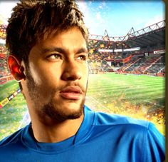 Neymar looking rather fine.loving it Neymar Jr, Good Soccer Players, Football Players, Soccer World, World Cup 2014, Messi, Ronaldo, The Funny, Brazil