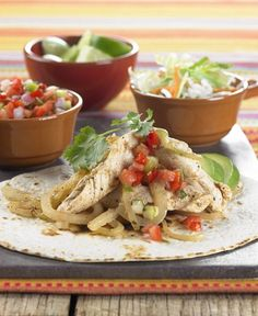 Chipotle Chicken, Sweet Onion and Cabbage Tacos