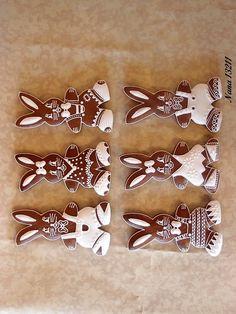 zajačiky 2, veľkonočné | Medovníky Artmama.sk