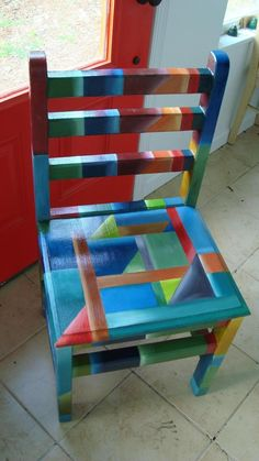 Eye Catching Design Colorful Furniture Indoor Chair