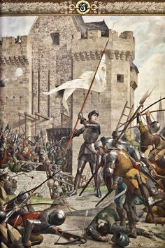 Joan D Arc, Saint Joan Of Arc, St Joan, Jeanne D'arc, Military Art, Military History, Late Middle Ages, French History, Mont Saint Michel