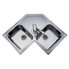 corner kitchen sink design ideas corner kitchen sink design homei luv sunday - Corner Kitchen Sink