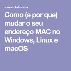 93 best tech images on pinterest computer help computer keyboard como e por que mudar o seu endereo mac no windows linux e fandeluxe Images