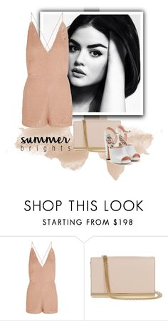 """""""***summer brights***"""" by saaraa-21 ❤ liked on Polyvore featuring Valentino, Diane Von Furstenberg and Rochas"""