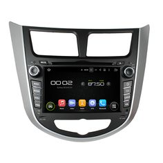 otojeta car dvd player for HYUNDAI Verna/Accent/Solaris 2011 octa core android 6.0 2GB RAM stereo gps/radio/dvr/obd2/tpms/camera