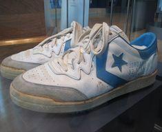 Converse Michael Jordan - zapatillas utilizadas por Michael en la final de la liga universitaria NCAA de 1982