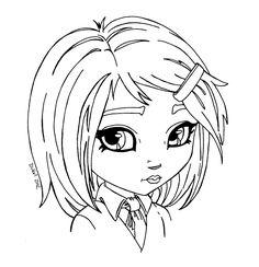 School girl by JadeDragonne on DeviantArt