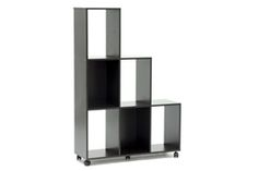 Baxton Studio Hexham Rolling Display Shelving Unit Hexham Rolling Display Shelving Unit wholesale, wholesale furniture, restaurant furniture, hotel furniture, commercial furniture