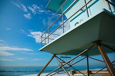 Beach Lifeguard Station Fine Art Photograph by ArtWagerPhotos  Free shipping within the continental US!