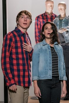Watch Episode 7 of our Instagram video series to see an awkward scenario with Paul Dano and Jenny Slate. And be sure to shop their spring date looks from Gap.