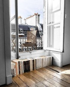 Fitting overflow of books into a nook and cranny