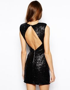 Lashes of London Sindy Sequin Bodycon Dress