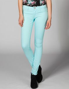 RSQ Miami Womens Jeggings light blue and mint, size 0 Kids Outfits, Summer Outfits, Summer Clothes, Jeggings, White Jeans, Skinny Jeans, Miami, Clothes For Women, My Style