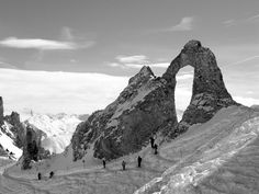 L'Aiguille Perc Fascinerende rots in Tignes
