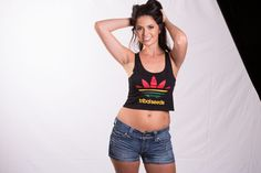 Ladies Sport Crop Top