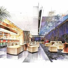 Business trip could be tiring. And then if you wanna take a short break. This would probably be the place where you can choose I suppose#hotel#business#businesstrip#businessplaces#trips#dining room#canteen#eating#breaks#resting#enjoying#rests#handdrawn#handdrawing#handpainting#handpaint#design#interior#interiordesign#innerdesign#designstudents#works#restaurant#restaurantdesign#restaurants#restaurantstyle#
