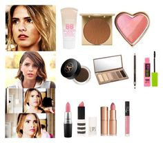 Malia Tate Inspired Make-up - tw / teen wolf by shadyannon on Polyvore featuring Stila, Urban Decay, Maybelline, Anastasia Beverly Hills, Topshop, MAC Cosmetics, NARS Cosmetics and Clarins