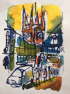 Borough Market & Southwark Cathedral.