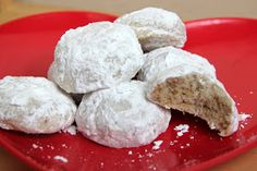 Adventures in all things food: Mexican Wedding Cakes - The Secret Recipe Club (#SRC)