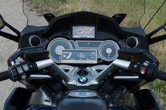 Mission Control. Cockpit of 2013 BMW K1600GT