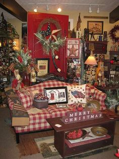 Kentucky Americana Gift Baskets| Gift Shop | The Red Brick Cottage