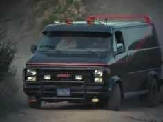 1983 GMC Vandura - The A-Team. If I found on of these A-Team vans I would pretty drive it just like Mr. T, driving thru walls and jumping it