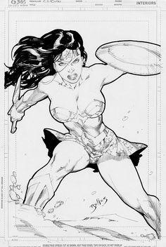 Wonder Woman by Ed Benes