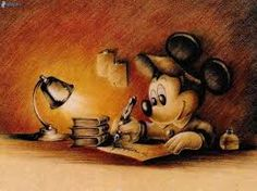 Micky Mouse escritor