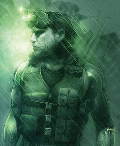 Gorgeous Splinter Cell concept by *Justin Randall