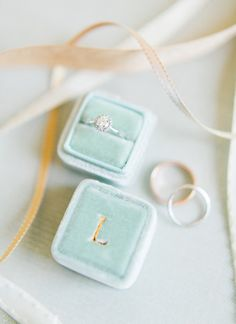 delicate ring box.