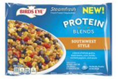Southwest Style - A delicious blend of whole grains, black beans, corn, lentils, red bell peppers, and sauce. Perfectly cooks in the bag!(CONTAINS: WHEAT, MILK)