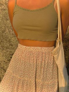 Indie Outfits, Teen Fashion Outfits, Retro Outfits, Look Fashion, Girl Outfits, Trendy Summer Outfits, Cute Casual Outfits, Simple Outfits, Mode Hipster