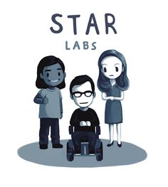 Star Labs team fanart by conch-sart