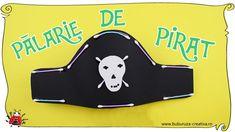 Cum sa faci o palarie de pirat creatie ✂♠❌ How to make a pirate hat craft Pirate Hat Crafts, Pirate Hats, Crafts For Kids, Snoopy, How To Make, Character, Crafts For Children, Kids Arts And Crafts, Kid Crafts