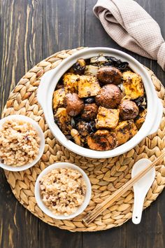 This vegetarian Braised Bean Curd and Mushroom recipe will be your next family favorite! A delicious earthy sauce brings it all together for the perfect weeknight dinner. #braisedtofu #braisedbeancurd #tofuandmushrooms Vegetarian Stir Fry Sauce, Soy Sauce Stir Fry, Asian Tofu Recipes, Vegetarian Recipes, Mushroom Soy Sauce, Mushroom Recipes, Dried Mushrooms, Stuffed Mushrooms
