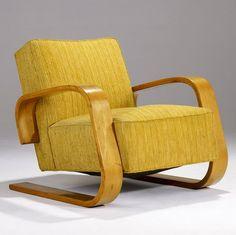 Tank chair, Alvar Aalto