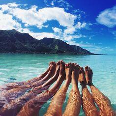 Amigas, praia, quero, tao bom