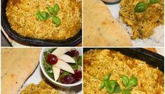 Gryterett med kylling og basilikum Macaroni And Cheese, Ethnic Recipes, Food, Red Peppers, Basil, Mac And Cheese, Meals, Yemek, Eten