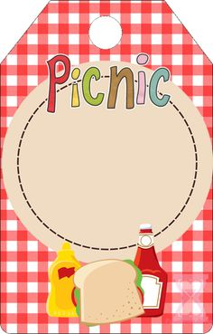 Picnic Free Party Printables and Boxes.                                                                                                                                                      More