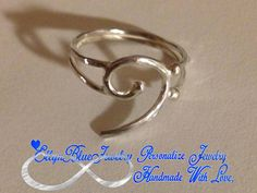 Bass ring, music ring, Sterling Silver Bass Clef Ring,Gift for Musician, Silver Jewelry, Gift for Her on Etsy, $14.99