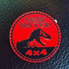 Jurassic Rated Badge!