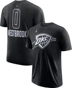 newest 3068b 2c803 Jordan Men s 2018 NBA All-Star Game Russell Westbrook Dri-FIT Black T-Shirt