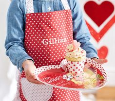 Valentine's Day Personalized Children's Apron - Sweet! Valentines Day