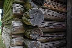 Finland, Wooden Chalet, Logs, House
