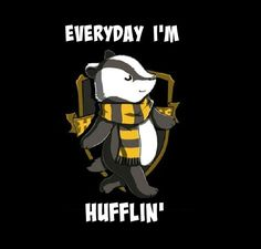 Those sexy Hufflepuffs - cute!