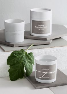 & Other Stories | Scented Candle - 'Studion'.Warm and welcoming, the scent of fig makes our Stockholm photo studio feel like home. 'Studion' is Swedish and named after our photo studio in the Stockholm Atelier, where stories, products and people are immortalised.