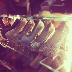 Dream Collection fashion girly glitter sparkle sexy heels shoe obsessed