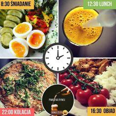 12 podstawowych wskazówek, które poprawią twoje zdrowie i ciało + przykładowa dieta - Motywator Dietetyczny Smoothie, Lunch, Ethnic Recipes, Food, Sport, Deporte, Eat Lunch, Essen, Sports